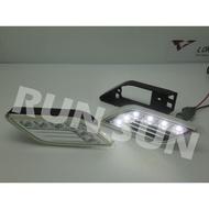 ●○RUN SUN 車燈,車材○● 全新 BENZ 賓士 W212 NEW E CLASS 晶鑽 LED 美規前保桿側燈