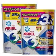 現貨!!當天寄出!!Ariel 日本進口三合一3D洗衣膠囊(洗衣球)_52顆/袋