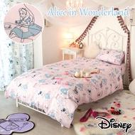 迪士尼愛麗絲床包單人3件組799415