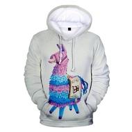 3D การพิมพ์ Fortnite คู่ hooded sweatshirt Fortnite 3D Fortress Night แนวโน้มใหม่