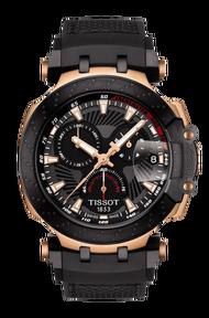 TISSOT 天梭 T1154173706100 T-RACE MOTOGP 2018賽車限量石英計時腕錶 43mm