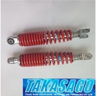 Yamaha AEROX 155 Lowered Shock 270mm, 2pcs Pair Set (Red)