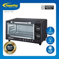 PowerPac 10L Electric Pizza Oven with 3 Stages Heat Selector (PPT38)