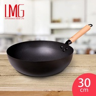 LMG長野不沾熟鐵鍋(30cm)(34cm)