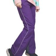 bossini深紫防風雪褲身高140-160公分