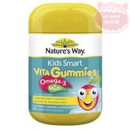 AU SHOP-現貨🌟Nature's Way Omega-3+兒童魚油🍊50顆