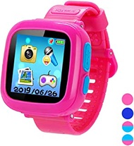 Smart Watch for Kids Girls Boys,Smart Game Watch with Camera Touch Screen Pedometer,Kids Smart Watch Perfect Holiday Birthday Toys Gifts(Pink)