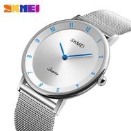 時刻美 SKMEI 1264 男士商務豪華手錶 腕錶 石英錶 防水不銹鋼 商務手錶 男士手錶 簡約大氣手錶