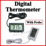 Digital Thermometer ◆ Fridge Thermometer ◆ Wine Bar Cabinet ◆ Humidity Hygrometer Fish Meter