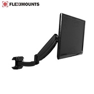 FLEXIMOUNTS M09 Full Motion LCD arm Computer Monitor wall Mount for most 10-24 inch Dell/HP/Samsung/Asus/Acer/AOC/BenQ flat panels screen with Swivel Gas Spring monitor arm for dental clinic