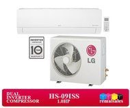 LG HS-09ISS  1.0HP Standard Inverter Split Wall Type Aircon