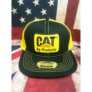 Cat vintage cap trucker tag made in usa snapback