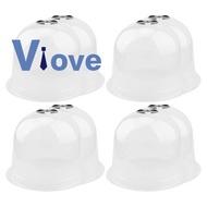 8 Pack Reusable Plastic Garden Cloche Dome Plant Covers