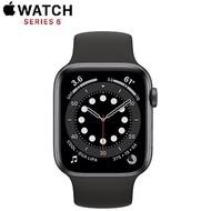 【限時97折】Apple Watch Series6 GPS版 44mm太空灰鋁金屬錶殼配黑色運動錶帶(M00H3TA/A)