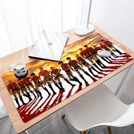 Attack On Titan gamer play mats BIG SIZE Rubber Game Mouse Pad HD design lord of the mouse pad 3mm mouse pad