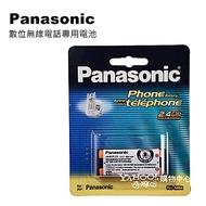 Panasonic 原廠數位無線電話充電電池 HHR-P105