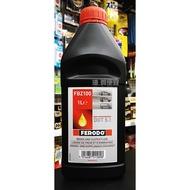 『油夠便宜』FERODO FBZ100 DOT 5.1高品質煞車油 #5898