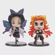 8ซม.Kimetsu ไม่มี Yaiba รูป Rengoku Kyoujurou Kochou Shinobu Q Ver. Anime Demon Slayer Action Figure Collection ของเล่น