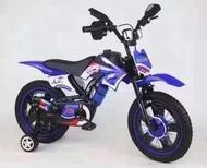十畝地 - 包安裝超型彷電單車兒童單車(藍色 12寸)適合2-4歲