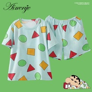Aimerye Women's Pajamas Summer Cotton Pajamas Sets Home Clothes for Young Women Sleepwear