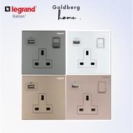 Legrand galion wall socket with USB