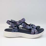 SKECHERS ON THE GO 600 女生鞋 140013NVMT 女生 涼鞋 拖鞋 運動涼鞋【DELPHI】