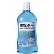 德恩奈清新雙效含氟漱口水1000ml【愛買】