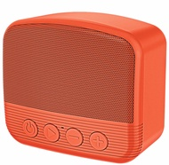 BLUETOOTH V5.0 PORTABLE SPEAKER WIRELESS HANDSFREE USB TF AUX - ORANGE
