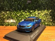 1/43 Minichamps BMW M2 Competition 2019 Blue 410026202【MGM】