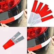 Night Reflective Sticker Reflective Sticker Reflective Sticker Warning Sign Red White