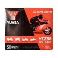 Aki Motor Honda Genio Yuasa YTZ5S MF Accu Kering