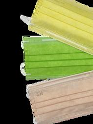 【上好生醫 】成人醫療口罩50入/盒X3色組(上好綠+蜜糖橘+芭娜娜黃)