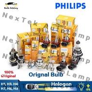 Philips Car Halogen Bulbs H1 H3 H4 H7 H8 H9 Auto Headlight Standard Bulb Rally Vision Premium Vision