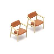 【KENELEPHANT】扭蛋轉蛋 Karimoku60 迷你家具 椅子組 兩入