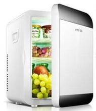 小冰箱 Amoi夏新20L小冰箱迷妳宿舍小型家用車載兩用冰箱制冷暖器單門式 MKS免運