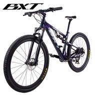New Carbon Mountain Bike 29er full suspension bike frame MTB Downhill bike 1*12speed sports MTB susp