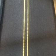 黃金項鍊、純金9999(男鍊、長60公分)~黃金男鍊、純金9999