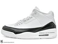 2020 重磅聯名 藤原浩 提案設計 NIKE AIR JORDAN 3 RETRO SP FRAGMENT DESIGN 閃電 白黒 透明屁股 AJ III 籃球鞋 (DA3595-100) !