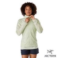 【Arcteryx 始祖鳥】女 Nodin 抗UV 防風 防潑水 風衣外套(元素綠)