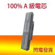 全新 MSI GT740 GT740X M1034 M655 M660 M660M 筆電電池