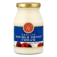 英國 德文郡 雙倍濃厚 英式奶油醬 170g 司康佐醬 English Clotted Double cream