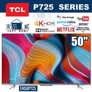 """TCL - 50P725 50"""" 4K 超高清 ANDROID 電視 P725"""