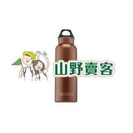 【山野賣客】Koozio / 咖啡金 600ml 水瓶, 不鏽鋼水壺 休閒水壺 自行車水壺 衛生無毒