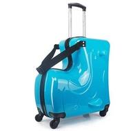 20/24นิ้วน่ารักการ์ตูนเด็กกระเป๋าเดินทาง Multiftion กระเป๋าเดินทางแบบลากกระเป๋าเดินทางล้อลากล้อรถเข็นเด็กกระเป๋า