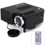 優麗可UC28+家用投影儀LED迷你微型便攜高清投影機MINI PROJECTOR