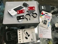 [阿群部品]AMA S720 前後雙鏡頭 機車 行車記錄器 720P 加購 車牌架 不鏽鋼