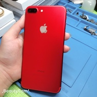 iPhone7 plus 128G(紅色)99成新無傷 無盒附配件 電池健康度99% 有貼保貼,功能正常 彰化可面交