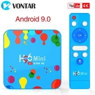4GB 128GB H96 Mini Android 9.0 TV Box Allwinner H6 Quad Core 6K H.265 Wifi netflix Youtube Set top box H96 mini 4GB32GB