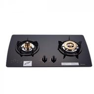 (全省安裝)林內美食家雙面檯面爐黑色與白色(與RB-2GMB同款)瓦斯爐RB-2GMB_NG1