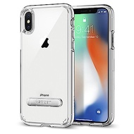 Spigen iPhone X Ultra Hybrid S 超薄型雙料立架防震殼